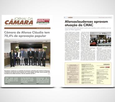 Jornal da Câmara – Afonso Cláudio